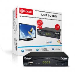 D-Color DC 1301 HD DVB-T2 тюнер