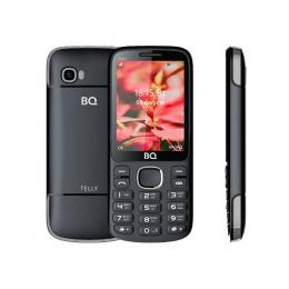 BQ 2808 TELLY BLACK+GRAY Мобильный телефон