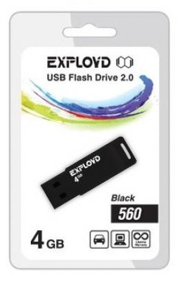 флеш диск EXPLOYD 16GB 560 черный