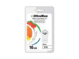 флеш диск OLTRAMAX OM-16GB-210 white