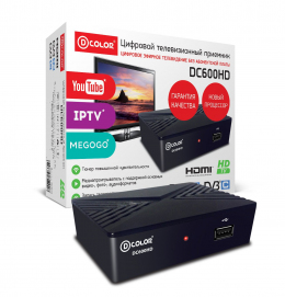 D-Color DC 600 HD DVB-T2 тюнер