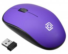 Мышь компьют.Oklick 515 MW black/purple