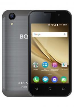 BQ 4072 STRIKE MINI DARK Gray смартфон,,