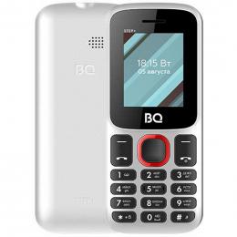 BQ 1848 Step+ white/red  Мобильный телефон