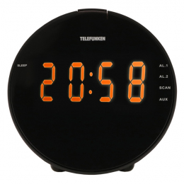 Telefunken TF-1572  часы-будильник