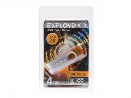 флеш диск exployd 4Gb 530 Orange