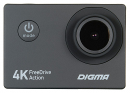 DIGMA FREEDRIVE ACTION 4K Экшен камера